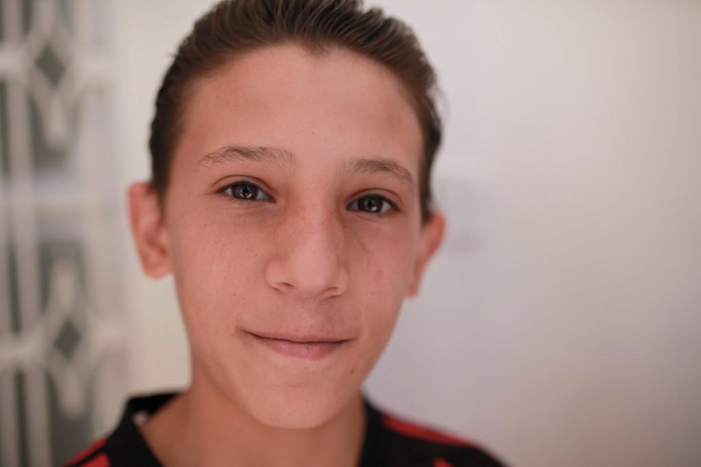 Enfants syriens à Kitim