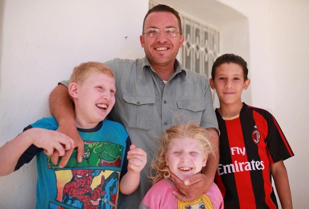 Famille syrienne installée à Kitim - Jordanie