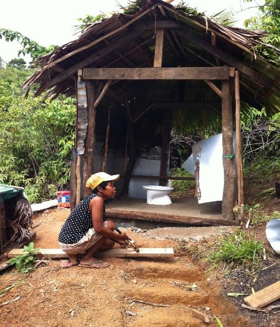 Gregoria Canatoy of Barangay Tugop