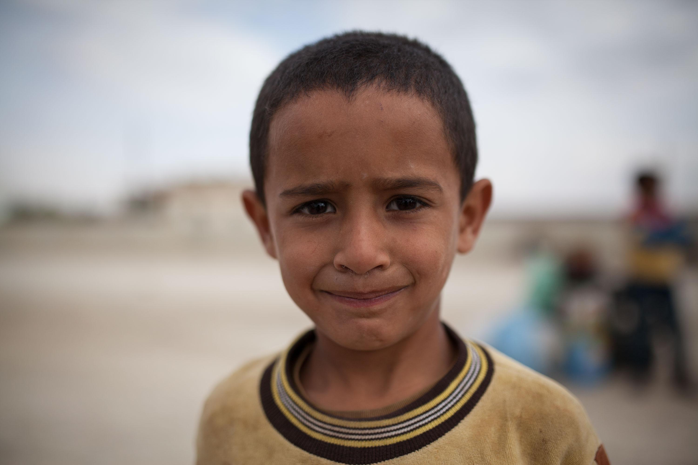 Un jeune syrien de retour de la décharge