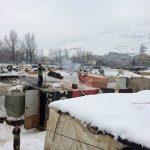 réfugiés syriens tempête Liban